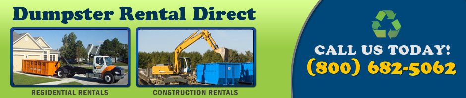 dumpster rental header